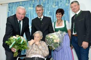 Vilits Maria - 105 Geburtstag mit Landeshauptmann_DSC7331
