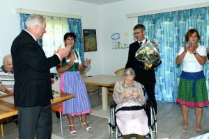 Vilits Maria - 105 Geburtstag mit Landeshauptmann_DSC7357 bearb
